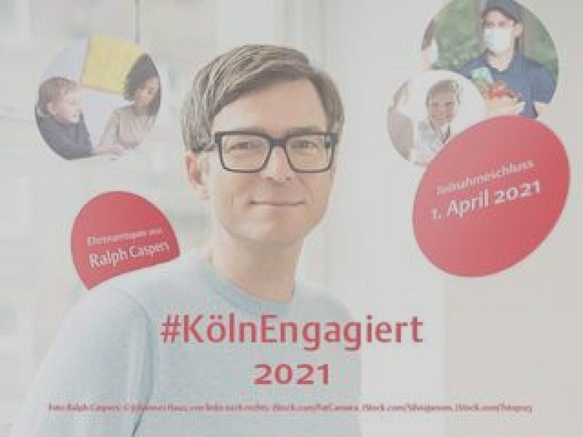 Ehrenamtspreis Köln Engagiert 20201